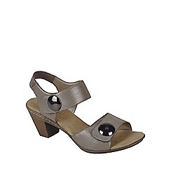 Rieker - Beige 'Sahara' Womens Casual Sandals