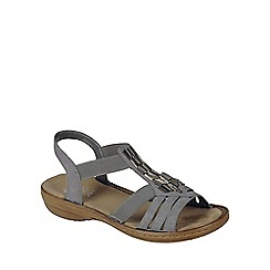 Rieker - Grey 'Nissi' Womens Casual Sandals