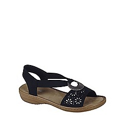 Rieker - Black 'Spark' Womens Casual Sandals