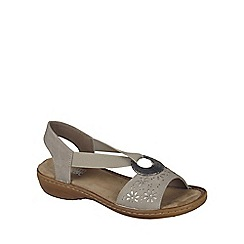 Rieker - Beige 'Spark' Womens Casual Sandals