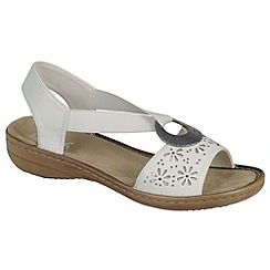 Rieker - White 'Spark' Womens Casual Sandals