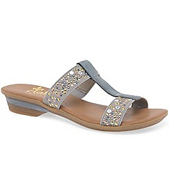 Rieker - Grey 'Scarlett' Womens Casual Sandals