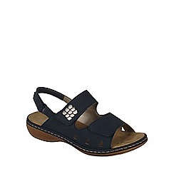 Rieker - Navy 'Stratton' Womens Casual Sandals