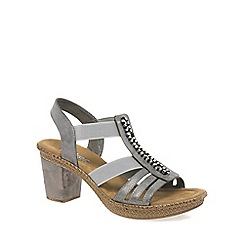 Rieker - Grey 'Monaco' Womens Casual Sandals