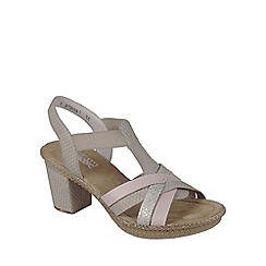 Rieker - Pale pink 'Rosa' Womens Casual Sandals