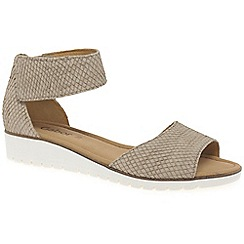 Gabor - Beige 'Penny' Womens Sandals