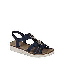 Rieker - Navy 'Bianco' Womens Casual Sandals