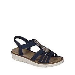 Rieker - Navy 'Bianco' Womens Casual Sandals