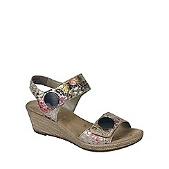 Rieker - Multi Coloured 'Tropicana' Womens Casual Sandals