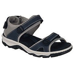 Rieker - Blue 'Flowerbed' Womens Casual Sandals