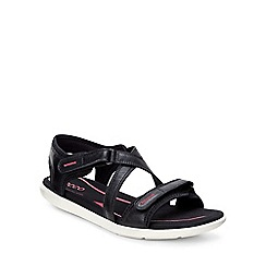 Ecco - Black 'Bluma' Womens Sandals