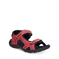 Ecco - Red 'Kana' Womens Sandals