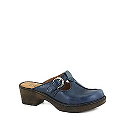 Josef Seibel - Blue 'Rebecca 11' Womens Clog Sandals