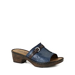 Josef Seibel - Blue 'Rebecca 21 Slide' Womens Clog Sandals