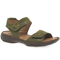Josef Seibel - Olive 'Debra 19' Womens Leather Sandals