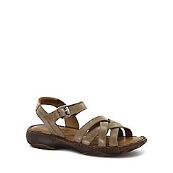 Josef Seibel - Cream 'Debra 23' Womens Leather Sandals