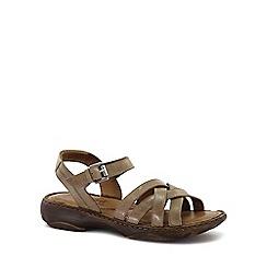 Josef Seibel - Cream 'Debra 23' Womens Leather Sandals