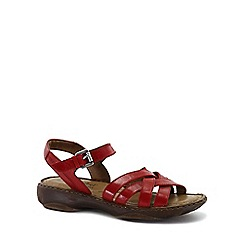 Josef Seibel - Red 'Debra 23' Womens Leather Sandals