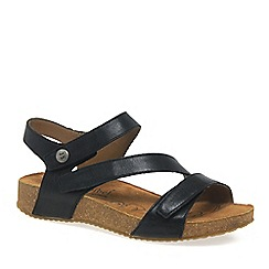 Josef Seibel - Black 'Tonga 25' Womens Leather Sandals