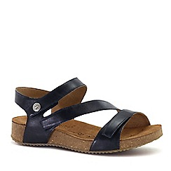 Josef Seibel - Dark blue 'Tonga 25' Womens Leather Sandals