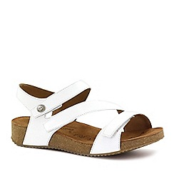 Josef Seibel - White 'Tonga 25' Womens Leather Sandals