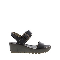 Fly London - Black 'Yost' Womens Casual Sandals