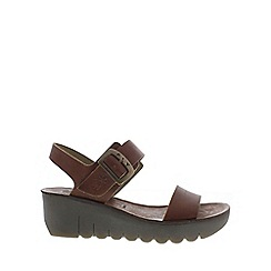 Fly London - Tan 'Yost' Womens Casual Sandals
