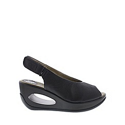 Fly London - Black 'Hatt' Womens Casual Sandals
