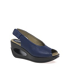 Fly London - Blue 'Hatt' Womens Casual Sandals