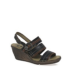 Fly London - Black 'Salm' Womens Casual Sandals