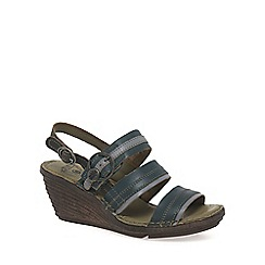 Fly London - Dark blue 'Salm' Womens Casual Sandals