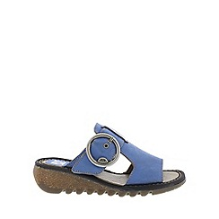 Fly London - Blue 'Tute' Womens Casual Sandals