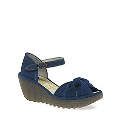 Fly London - Blue 'Yoel' Womens Casual Sandals