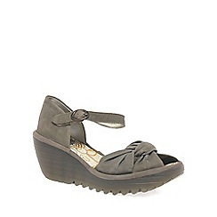 Fly London - Khaki 'Yoel' Womens Casual Sandals