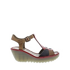 Fly London - Multi Coloured 'Yila' Womens Casual Sandals