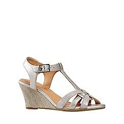 Van Dal - Metallic Temple Womens Wedge Sandals