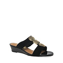 Van Dal - Black 'Epsom' Womens Dress Mules