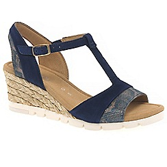 Gabor - Dark blue 'Runcorn' Womens Sandals