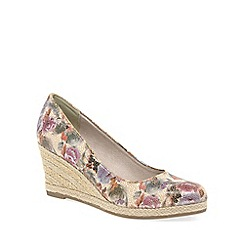Marco Tozzi - Multi coloured 'Imala' womens espadrilles