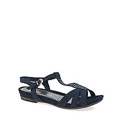 Marco Tozzi - Navy 'Muna' Womens Sandals