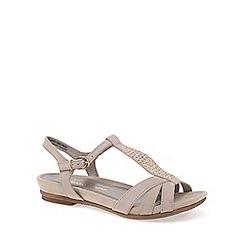 Marco Tozzi - Beige 'Muna' Womens Sandals