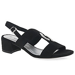 Marco Tozzi - Black 'Eager II' Women's Dress Sandals