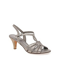 Marco Tozzi - Taupe 'Ivah II' Womens Dress Sandals