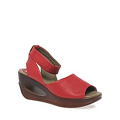Fly London - Red 'Hert' Womens Casual Sandals