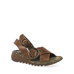 Fly London - Camel 'Tubb' Womens Casual Sandals