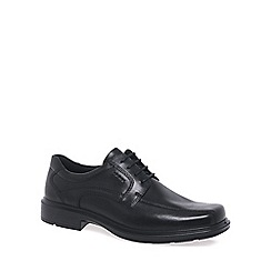 Ecco - Black 'Kumpala' lace up shoes