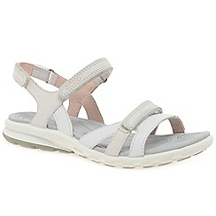 Ecco - White 'Cruise II' womens casual sandals