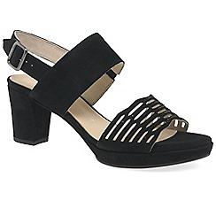 Gabor - Black 'Ariella' womens casual sandals