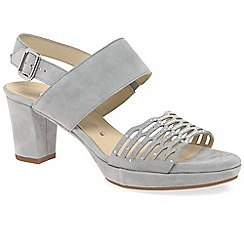 Gabor - Light grey 'Ariella' womens casual sandals