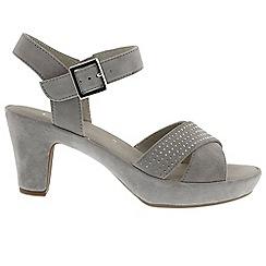 Gabor - Grey suede 'Ransom' sandals